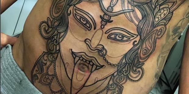 Mais à qui appartient ce tatouage... un peu dingue? (PHOTO) - La DH