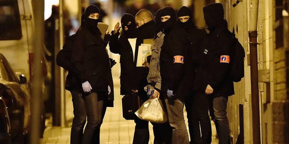 News : Action police in Molenbeek (Delaunoy street )