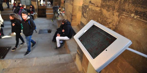 Florence combat les graffitis avec des graffitis - La DH