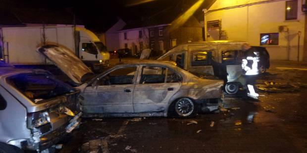 Six voitures en feu à Montignies-sur-Sambre - La DH