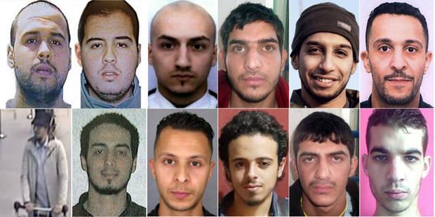 Le point sur les personnes impliqu�es dans les attentats de Paris et Bruxelles