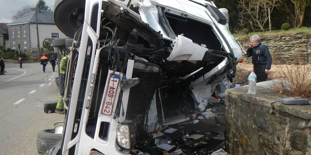 Gouvy: Fabian Muller perd le contrôle de son semi-remorque et se tue à Sterpigny - La DH