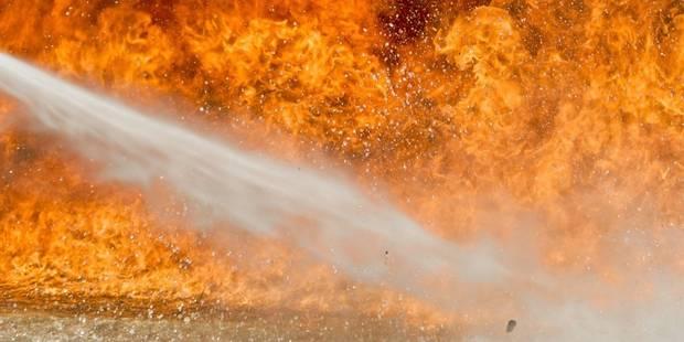 Des bêtes coincées dans un hangar en feu à Fexhe-Slins - La DH