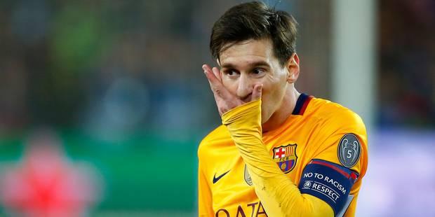 Fraude fiscale: l'ouverture du proc�s de Messi confirm�e pour le 31 mai