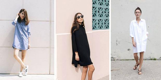 10 façons de porter une robe-chemise - La DH