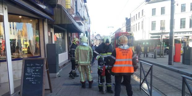 Gosselies: Périmètre de sécurité instauré à la suite d'une fuite de gaz - La DH