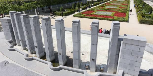 Bruxelles: la fontaine du Mont des Arts enfin rénovée - La DH