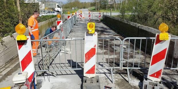 Mont-Saint-Guibert: Le pont menace de s'effondrer - La DH