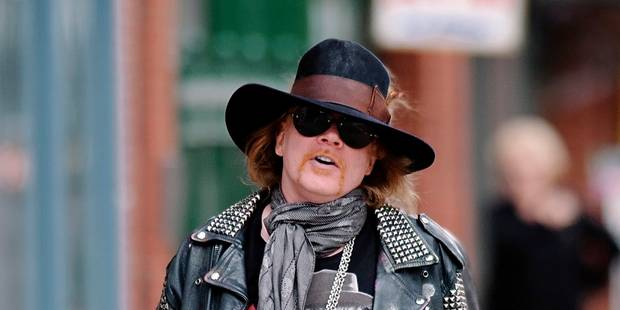 Axl Rose nouveau chanteur d'AC/DC en remplacement de Brian Johnson - La DH