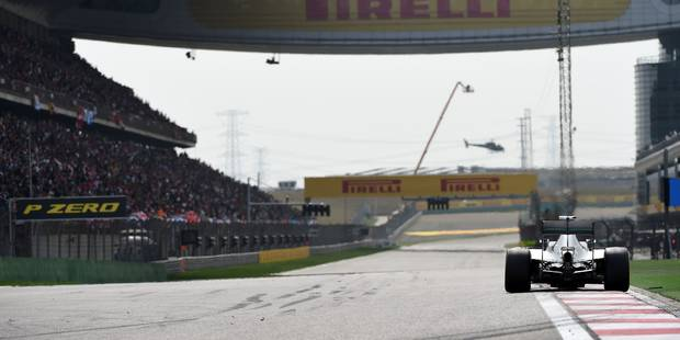 GP de Chine: Troisième victoire consécutive pour Nico Rosberg - La DH
