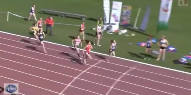 Une sprinteuse livre un finish incroyable en relais 4x400m - La DH