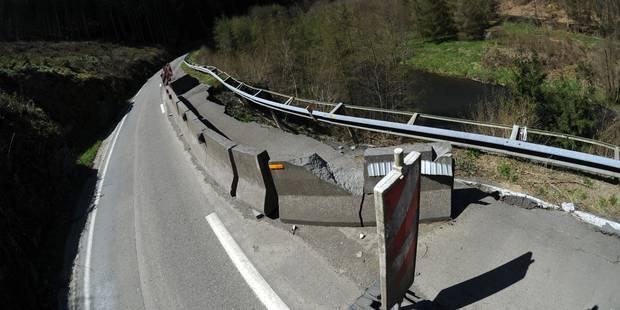 Un important chantier entre Bertogne et La Roche - La DH