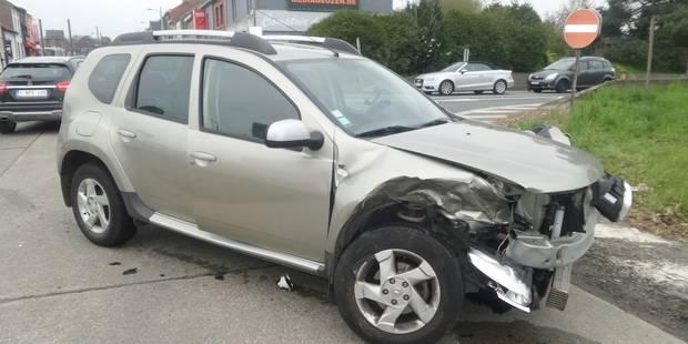Quatre blessés lors d'une collision à Gosselies - La DH