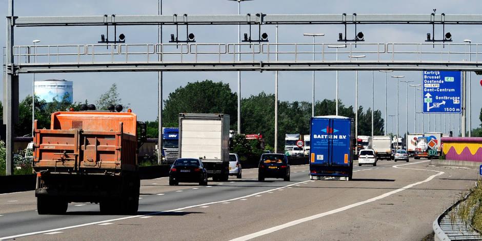 Une quinzaine de radars tronçon en Wallonie dès 2017 - La DH