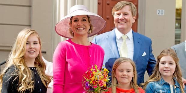 La reine Maxima fait honneur à la mode belge - La DH