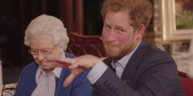Les Obama défient le prince Harry sur Twitter, la reine s'en mêle (vidéos) - La DH