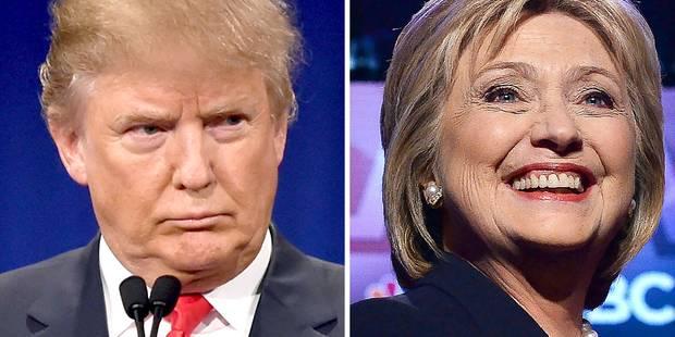 Clinton doit retourner au charbon, Trump dans un fauteuil - La DH