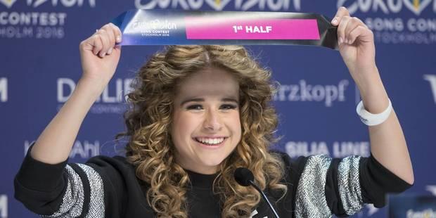 La chanteuse belge Laura Tesoro ouvrira la finale de l'Eurovision samedi à Stockholm (PHOTOS) - La DH