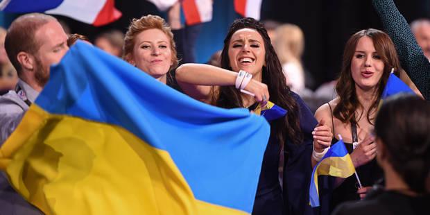 Avec son choix politique, l'Ukraine remporte l'Eurovision 2016 devant la Russie, la Belgique 10e - La DH