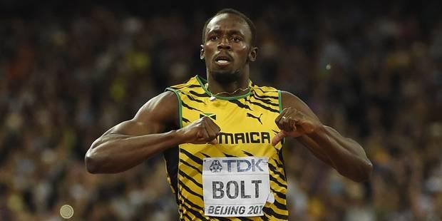 Retour gagnant mais sans étincelles pour Usain Bolt - La DH