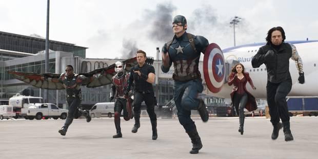 """""""Captain America"""" toujours en tête du box-office nord-américain - La DH"""