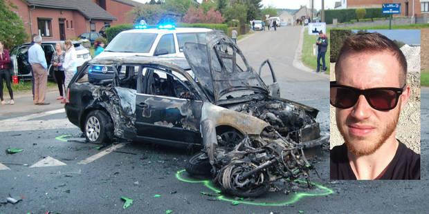 Charles Dufrasne tué sur sa moto à Pesche - La DH