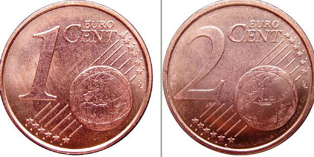 Fin des pièces de 1 et 2 cents: le flop - La DH