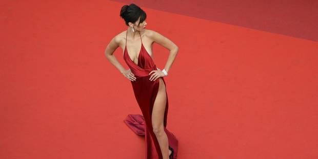 Sexy à souhait, la robe fendue est partout à Cannes ! - La DH
