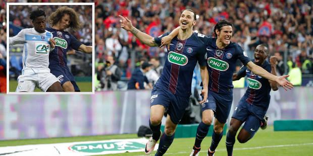 Batshuayi et Zlatan buteurs pour leur der', la Coupe pour le PSG (VIDEO) - La DH