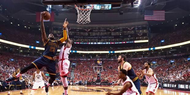 NBA: 2e finale consécutive de Cleveland, 6e de LeBron James - La DH