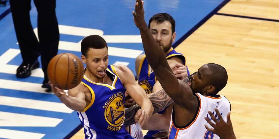 NBA : Golden State s'impose à Oklahoma City 101 à 108 et force une 7e manche décisive