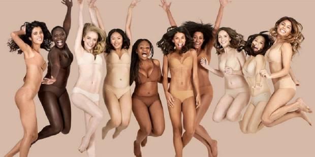 """Enfin une collection de lingerie """"nude"""" pour tous les types de peau - La DH"""