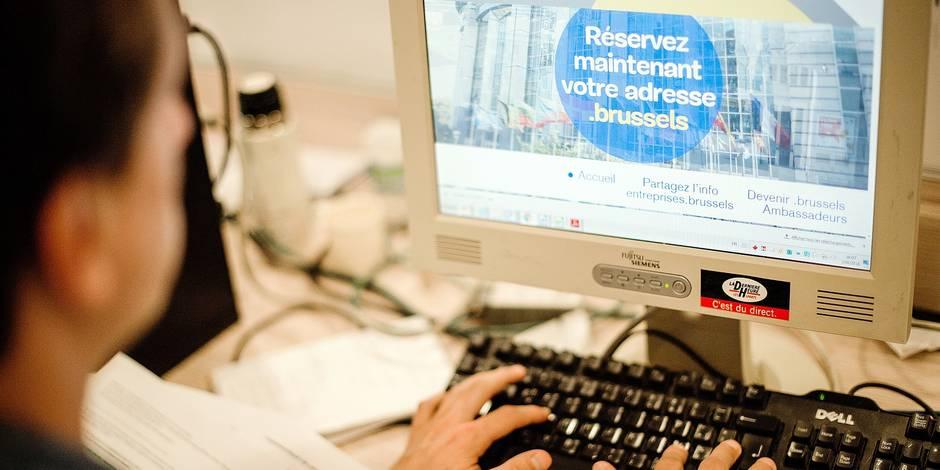 Bruxelles - Siege IPM: illustration de la nouvelle extension de la ville de bruxelles sur le net. .Brussels