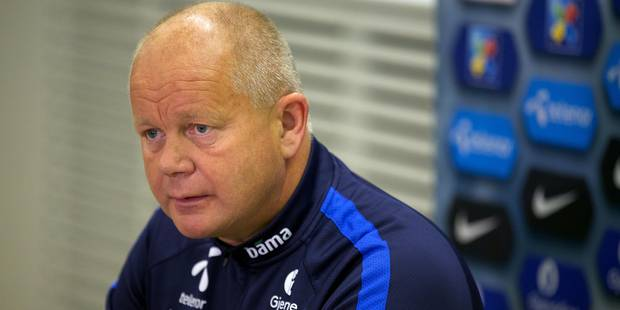 Le danger peut venir de partout avec les Belges, selon le coach norvégien - La DH