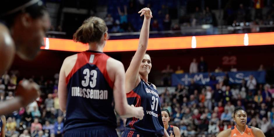 Washington s'offre le leader Atlanta, Emma Meesseman passe le cap des 1.000 points en WNBA