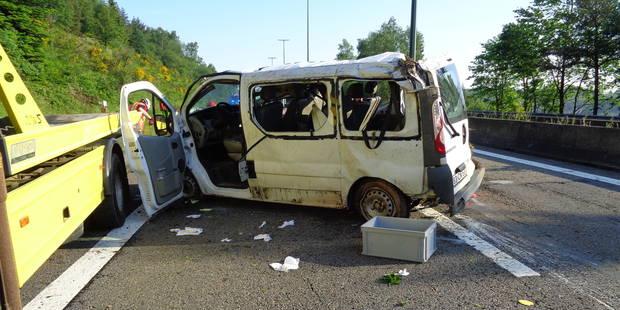 Cinq blessés dont deux graves sur la E25 - La DH