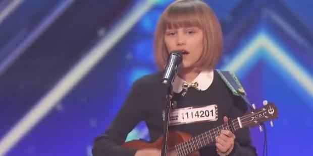 """A 12 ans, elle bluffe le jury d'""""America's Got Talent"""" ! - La DH"""