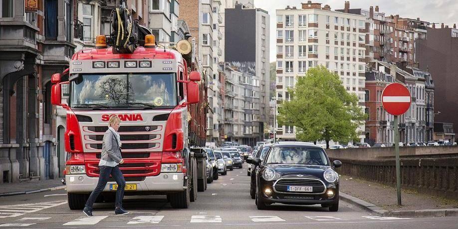 Les vieux diesels bannis de Liège