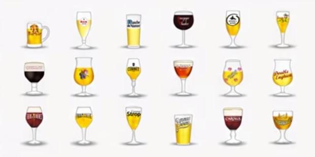 Les émojis se mettent à la bière belge ! - La DH