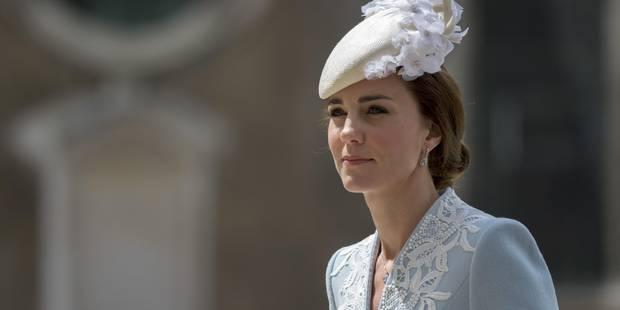 Kate Middleton, magnifique pour les 90 ans de la reine - La DH