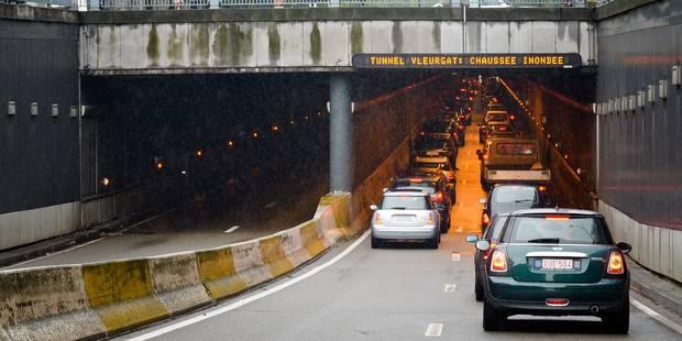 Inondations dans certains tunnels de Bruxelles à cause de la pluie - La DH