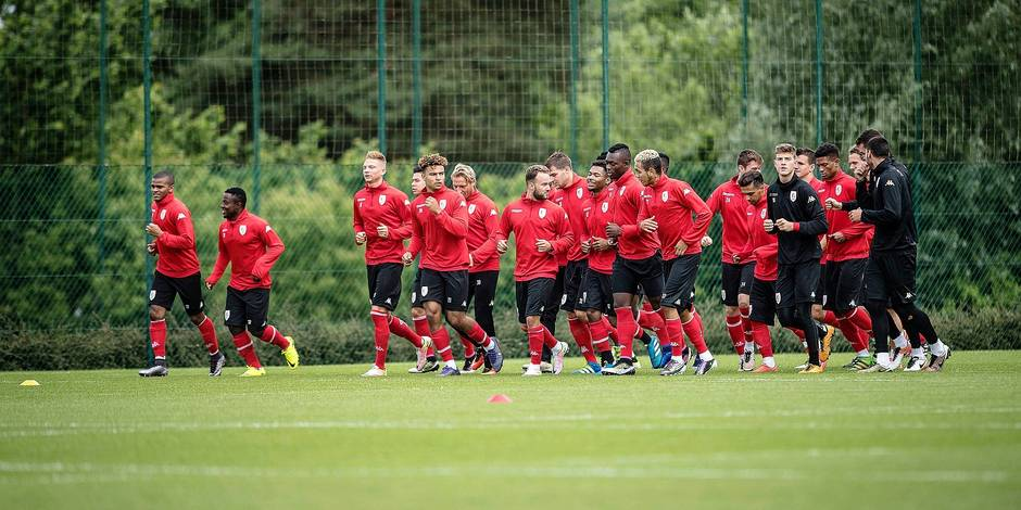Standard Liege first training of the season 2016 - 2017