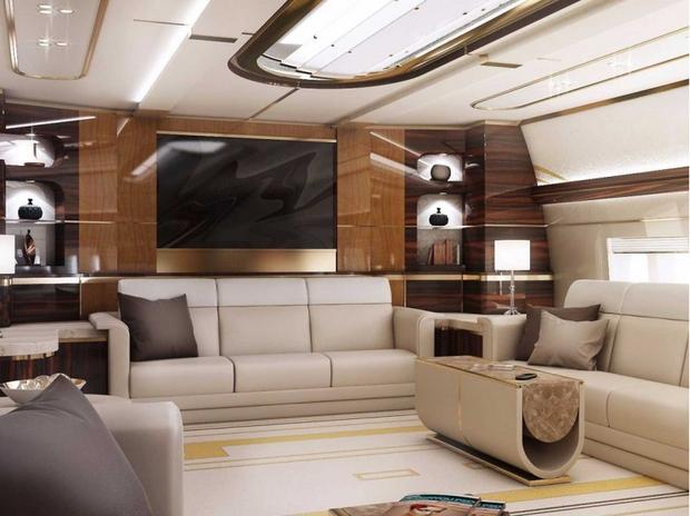 Petite visite dans le plus luxueux des jets privés - La DH b64ffafdd47