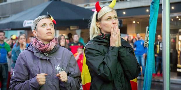 Menace terroriste: pas de mesures de sécurité supplémentaires au village des supporters place Rogier - La DH
