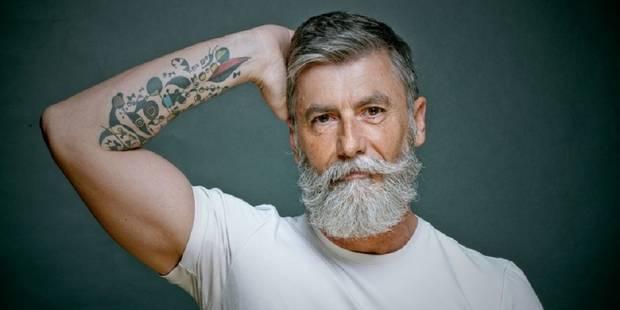 A 60 ans, il devient le mannequin hipster le plus sexy du monde - La DH