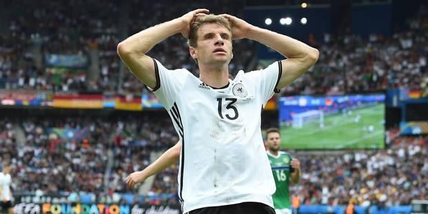 """Thomas Müller: """"Pas contents à 100%"""" - La DH"""