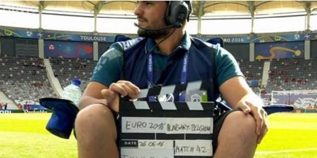 Bug technique à la RTBF durant Allemagne - Slovaquie: qui est donc cet homme qui est apparu à l'écran? - La DH