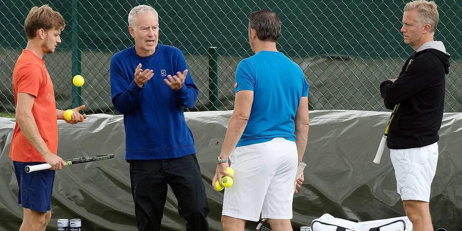 Wimbledon, c'est parti: la Team Goffin en ordre de marche