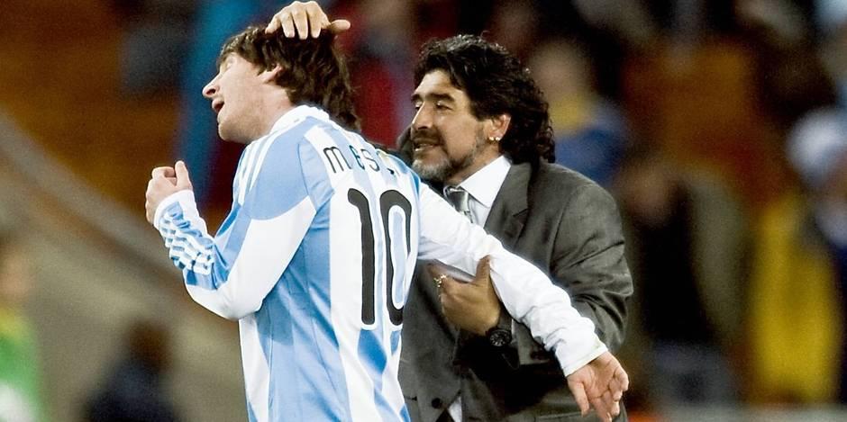 Maradona supplie Messi de revenir sur sa décision