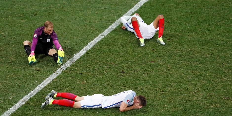"""""""Des débiles perdus en Islande"""": Revue de presse après la défaite de l'Angleterre"""